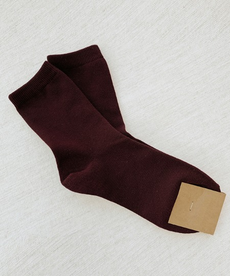 Simple wine socks